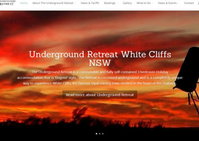 Underground Retreat White Cliffs NSW